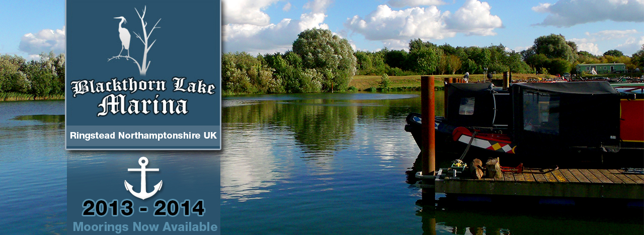 Blackthorn Lake Marina - Moorings Now Available 2013 - 2014